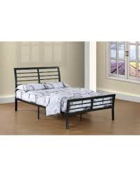 Grey Sleigh Bed Get The Deal Wright Size Contemporary Grey Metal