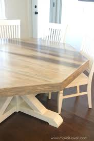 how to make your own dining room table wondrous rogue wood for table top octagon dining room table set 65