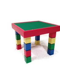 Children S Lego Table Children U0027s Table And Chair Lego Table Kids Table Playroom