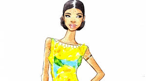 fashion sketching in watercolor skillshare projects