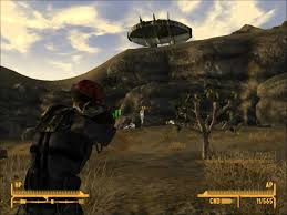 Fallout New Vegas Maps by Fallout New Vegas Alien Blaster And Spaceship Location Youtube