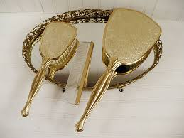 Vanity Comb Brush Mirror Sets Vintage Goodness 1 0 New Goodness On Ebay This Week