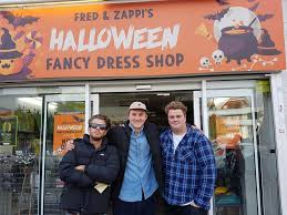 michigan city halloween store two brookes grads have opened a halloween shop on cowley