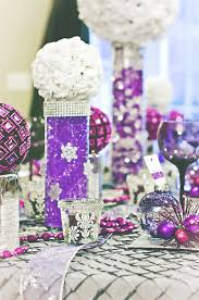 Vase Table Centerpiece Ideas Decorating Ideas Minimalist Purple White Wedding Table Decoration