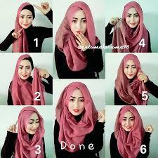 tutorial hijab pashmina tanpa dalaman ninja tutorial hijab segi empat tanpa ciput ninja citra muslima