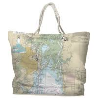 nautical bags nautical chart tote bags travel themed tote bags destination