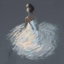 ballerina canvas ebay