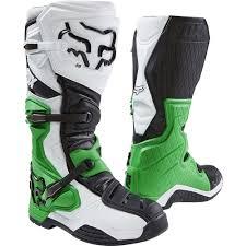 motocross boots for big calves new fox racing 2017 mx comp 8 le white black green monster