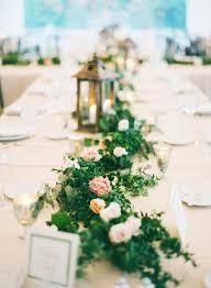 23 wedding trend unique floral wedding garland table runner