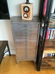 Upcycled Metal Filing Cabinet Vintage Bisley Metal Filing Cabinet Original Bright Retro Yellow