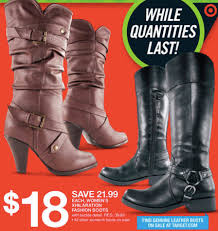 target black friday saler target black friday ladies u0027 exhilaration fashion boots 15 50 w