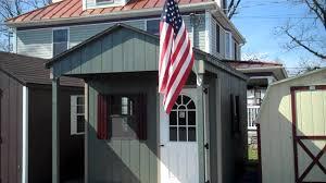Two Story Storage Sheds Sheds Unlimited Alans Factory Outlet Amish Storage Sheds Prefab Garages Virginia