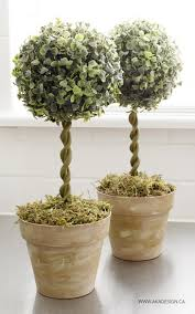topiary trees diy topiary trees from dollar store supplies