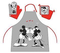 jeux de cuisine de mickey mickey et minnie set de cuisine tablier gant de cuisine