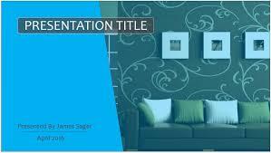 interior design powerpoint template 10303 free powerpoint