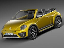new volkswagen beetle convertible rebusmarket high quality 3d models