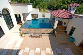 in ground pool patio designs small backyard inground pool design