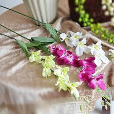 wholesale silk flowers colors artificial wholesale silk flowers singapore orchid flower