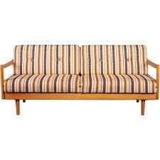 canapé extensible canapé extensible vintage en bois de chêne 1960 design market