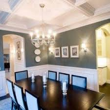 dining room trim ideas dining room wainscoting white trim and brown walls and