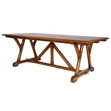 trestle base dining table trestle base dining table william switzer