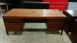 vintage desk credenza set by jens risom dynamic office services