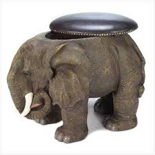 elephant storage ottoman for sale antiques com classifieds