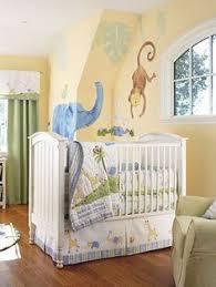 Jungle Nursery Bedding Sets Balloon Baby Crib Bedding Set 5pcs Baby Crib