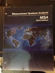 measurement systems analysis msa aiag 9781605342115 amazon