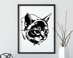 Morpheus Cat Meme - lolcats meme etsy