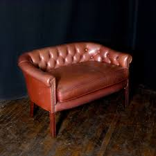 Old Leather Sofa Antiques Atlas Old Red Leather Sofa
