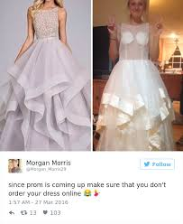 buy wedding dresses online are prom dresses they regret buying online and it s