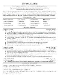 best finance resume finance manager resume cv example sample
