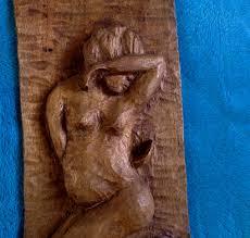r dorisme vintage carved haitian wood wall