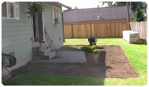 Diy Patio With Pavers Paver Patio And Pergola Preparation Beauross Com