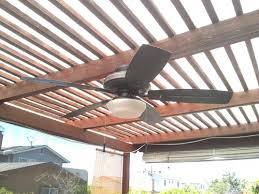 Pergola Ceiling Fan by Hampton Bay Gazebo Ii 52 In Indoor Outdoor White Ceiling Fan With
