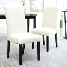 White Leather Dining Room Chairs White Leather Dining Room Chair Jcemeralds Co