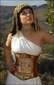 Corsets Halloween Costumes Pin Amy Calo 13 Egyptian Corset