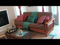 futon living room futon facelift the living room youtube