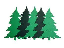pine tree die cuts tree die cuts pine tree shapes