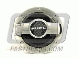 dodge challenger fuel billet aluminum fuel door assembly satin outer