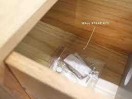 Furniture Wall Straps How To Keep Your Mocka Furniture Secure Mocka Nz Blog