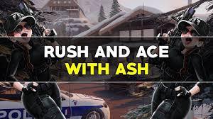 rush ash dropshot and flicks rainbow six siege youtube