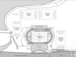 stadium floor plan rzaps zurita architects icahn track u0026 field stadium