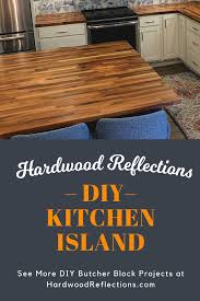 how to build a kitchen island with sink and cabinets diy kitchen island concepts and designs hardwood reflections