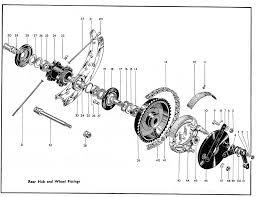 bsa thunderbolt manual rear wheel removal a7