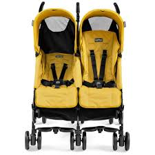 Baby Mod Mini Crib by Peg Perego Pliko Mini Twin Stroller Mod Yellow Clearance Tjskids