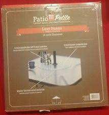 Lazy Susan Turntable For Patio Table Glass Lazy Susan Ebay