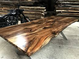 epoxy table top resin english walnut table top w epoxy encapsulation resin corner