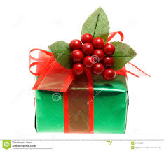 gift boxes christmas green christmas gift box royalty free stock images image 21777859